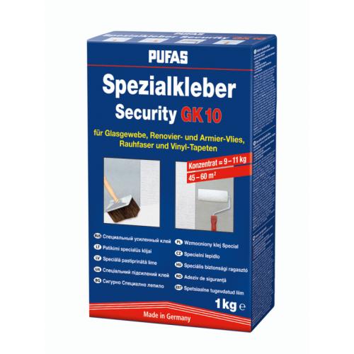 Обойный клей Pufas Security GK 10 Специальный усиленный (1 кг)