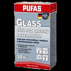 Обойный клей Pufas EURO 3000 Glass для стеклообоев и всех типов флизелиновых обоев