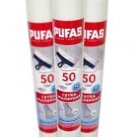 Сетка стеклотканевая фасадная Pufas 2x2 мм (50 г/м²), 30 м