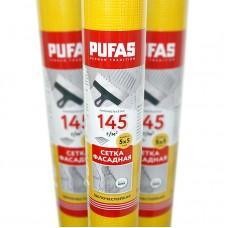 Сетка стеклотканевая фасадная Pufas 5x5 мм (145 г/м²), 50 м