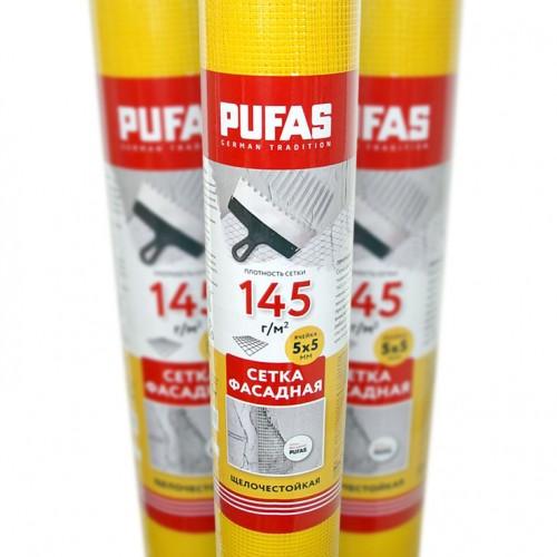 Сетка стеклотканевая фасадная Pufas 5x5 мм (145 г/м2)