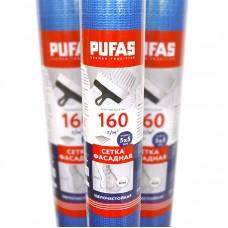 Сетка стеклотканевая фасадная Pufas 5x5 мм (160 г/м²), 50 м