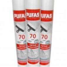 Сетка стеклотканевая фасадная Pufas 5x5 мм (70 г/м²), 50 м