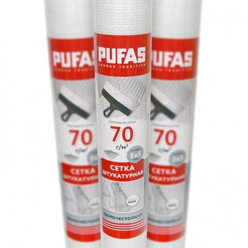Сетка стеклотканевая фасадная Pufas 5x5 мм (50 г/м2)