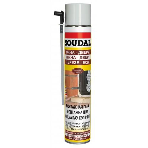 Монтажная пена Soudal (300 мл)