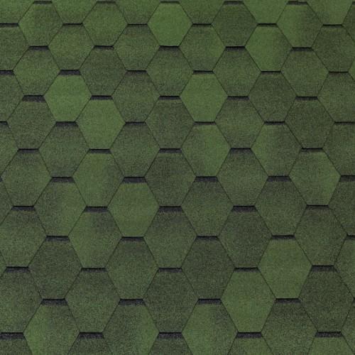 Гибкая черепица Top Shingle Смальто (зелёный)