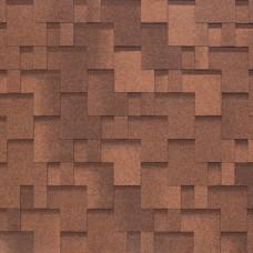 Гибкая черепица Nobil Tile Акцент (красно-коричневый)