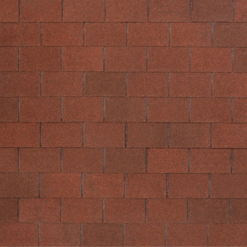 Гибкая черепица Nobil Tile Лофт (красно-коричневый)