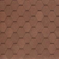 Гибкая черепица Nobil Tile Вест (светло-коричневый)
