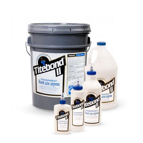 Клей столярный влагостойкий прозрачный Titebond II Transparent Premium Wood Glue