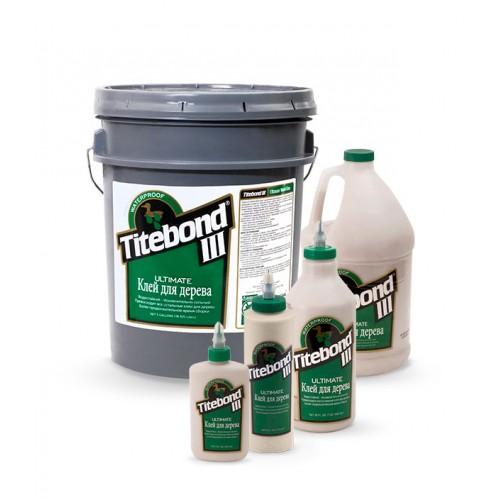 Клей с повышенной влагостойкостью Titebond III Ultimate Wood Glue