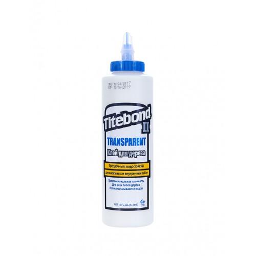 Titebond II Transparent Premium Wood Glue (473 мл)