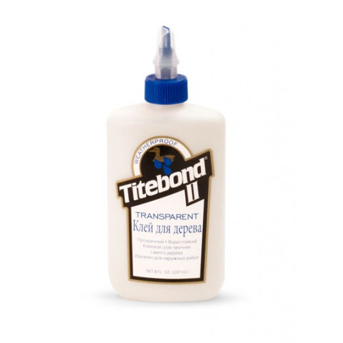 Titebond II Transparent Premium Wood Glue (237 мл)