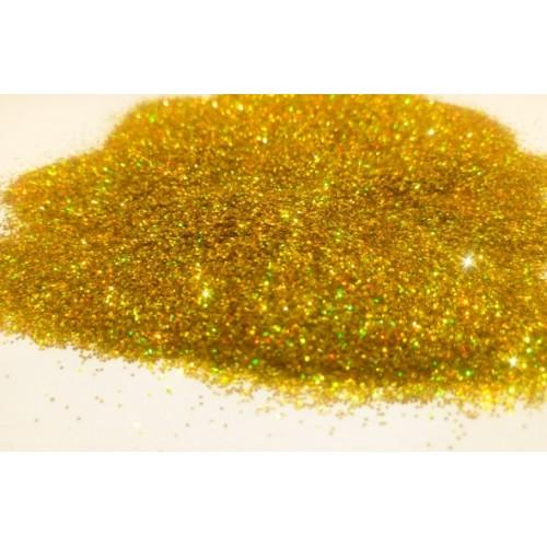 Добавка к жидким обоям Голографическая Блеск золото (0,4 мм)