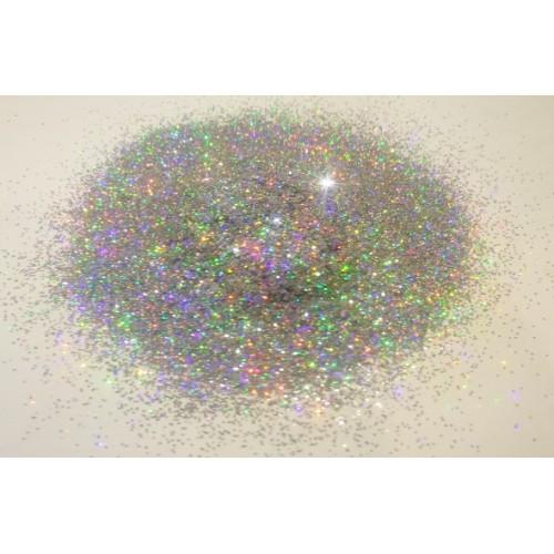 Добавка к жидким обоям Голографическая Блеск серебро (0,4 мм)