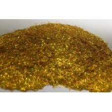 Добавка к жидким обоям Голографическая Люрекс золото (0,2x2 мм)