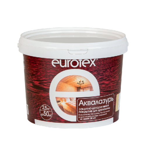 Eurotex Аквалазурь (0.9 кг)