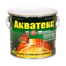 Защитно-текстурное покрытие для древесины Акватекс