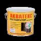 Защитно-декоративное покрытие для древесины кроющее Акватекс Реставратор