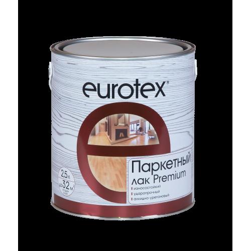 Паркетный лак Eurotex Premium