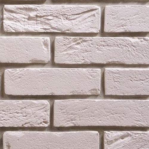 Гипсовый камень Клинкер Белый (1 м²)