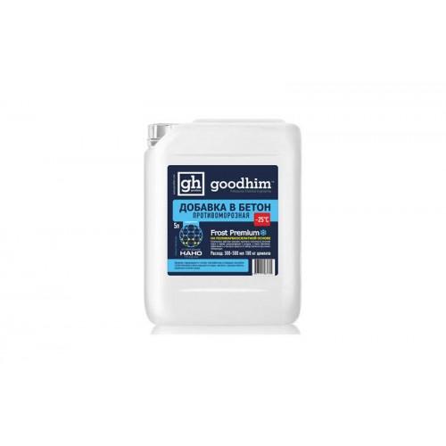 Комплексная добавка противоморозная с пластификатором Goodhim Frost Premium -25°С (10 л)
