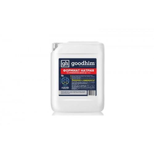 Противоморозная добавка Goodhim Формиат натрия 25% -15°С (10 л)