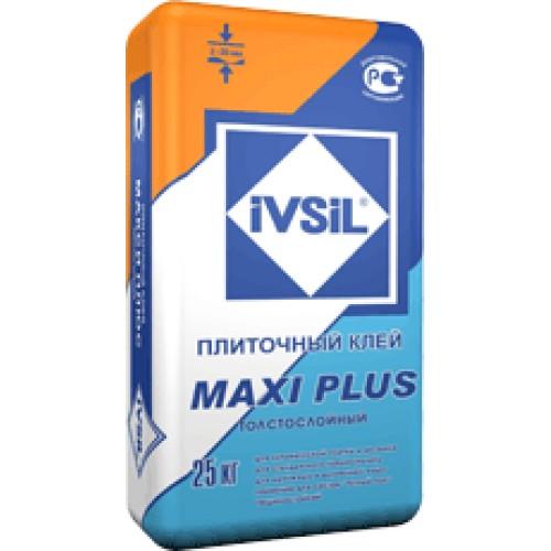 Клей для укладки плитки толстым слоем IVSIL MAXI PLUS