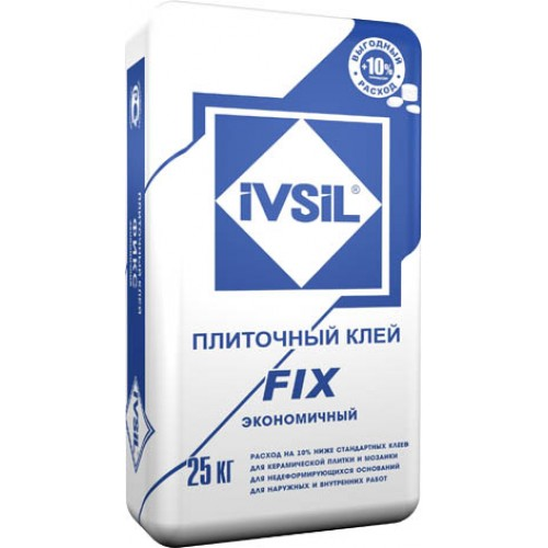 Клей плиточный IVSIL FIX