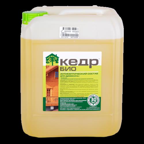 Биозащитный состав для древесины КЕДР Био (10 кг)