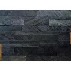Натуральный камень с самоклеящимися панелями Hong Kong Metal Nero