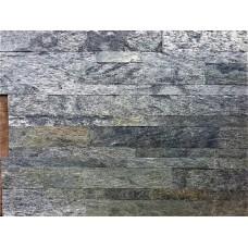 Натуральный камень с самоклеящимися панелями New York Silver Shine