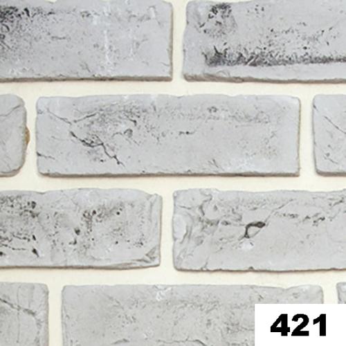 """Гипсовая плитка """"Кирпич ручной формовки"""" 421"""