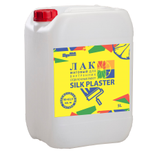 Лак для жидких обоев Silk Plaster (5 л)