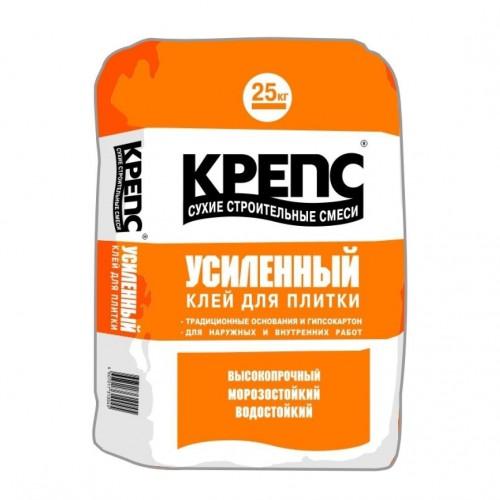 Клей для плитки КРЕПС Усиленный 25 кг
