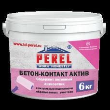 Грунт бетон-контакт Актив Perel