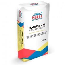 Штукатурка цементно-известковая для машинного нанесения Perel Robust-M