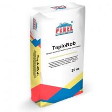 Штукатурка цементно-известковая лёгкая Perel TeploRob