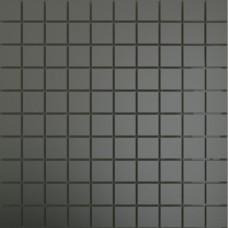 Зеркальная мозаика Графит с чипом матовая 25x25 мм